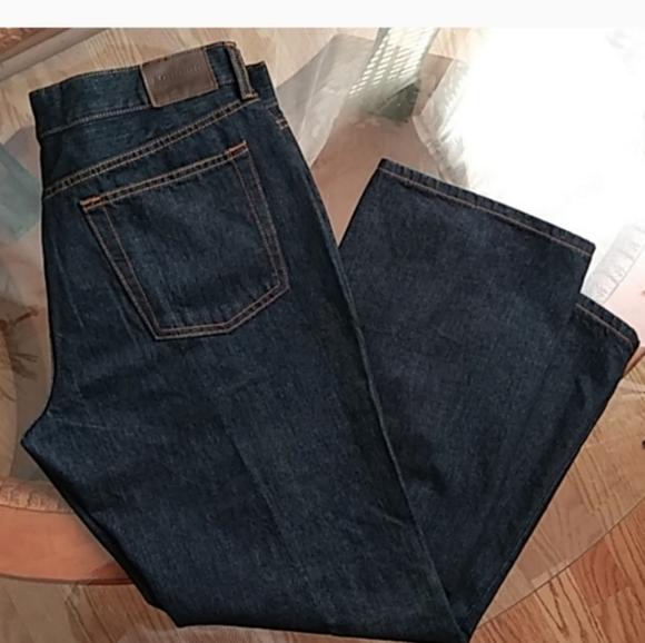 Five Pocket Denim Blue Jeans